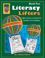 Literacy Lifters Book 2