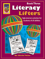 Literacy Lifters Book 3