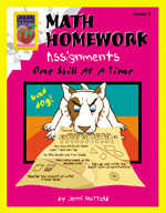 Math Homework Assignments (Grade 3)