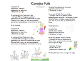 De Colores y Conejito Fufú