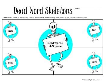 DEAD WORD Skeletons / Word Choice