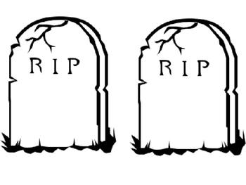 DEAD WORDS! Burying Those Boring Words! {FREEBIE}