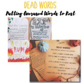 DEAD WORDS PROJECT! Putting OVERUSED and OVERRATED Words to Rest