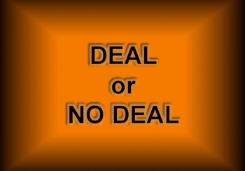 DEAL or NO DEAL BASIC MATH REVIEW GAME