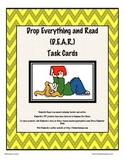 D.E.A.R. (Drop Everything And Read) Literary Response Task Cards