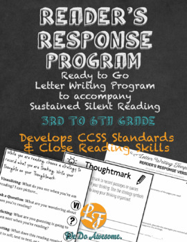 D.E.A.R. Response Letter Writing (CCSS)