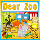 DEAR ZOO STORY RESOURCES AND ZOO ROLE PLAY EYFS KS 1-2 ENG