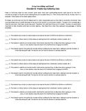 DEAR or SSR Checklist