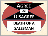 DEATH OF A SALESMAN - Agree or Disagree Pre-reading Activity