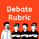 DEBATE RUBRIC: For Socratic Seminar, Argument, and Classroom Discussion