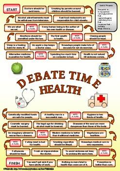 DEBATE time - HEALTH