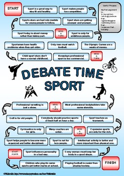 DEBATE time - SPORT