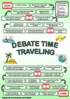 DEBATE time - TRAVELING