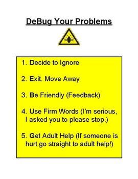 DEBUG your problems