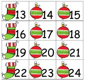 DEC Calendar Cards