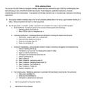 DECA Lettering Criteria