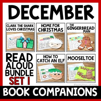 DECEMBER BUNDLE: 5 Read Alouds with Written Responses and Crafts