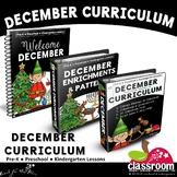 DECEMBER PRESCHOOL CURRICULUM MONTHLY LESSON PLANS S1