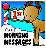 Morning Messages December 1st Grade