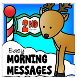 Second Grade Christmas Morning Messages