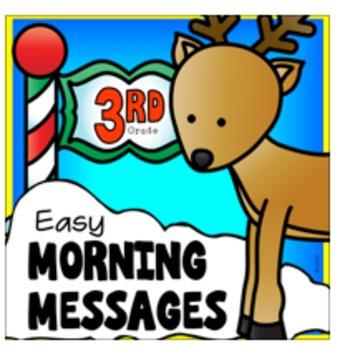 3rd Grade December Morning Work