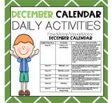 DECEMBER Fine Motor/Visual Motor (Daily Activities)
