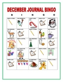DECEMBER JOURNAL BINGO