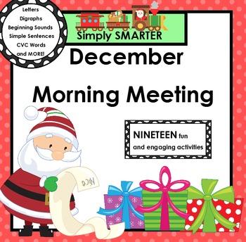 DECEMBER MORNING MEETING