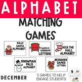DECEMBER  Monthly Alphabet Letter Recognition Games