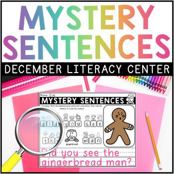 DECEMBER Mystery Sentences