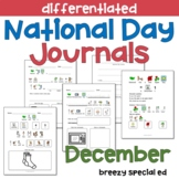 DECEMBER National Days Differentiated Journals for special
