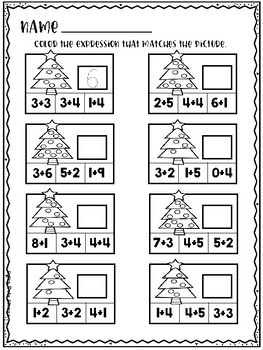 DECEMBER Perfect Practice for Addition