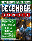DECEMBER Sentence Builders BUNDLE