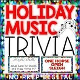 DECEMBER TRIVIA (Holiday Music) Distance Learning
