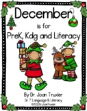 DECEMBER is for PreK, Kdg and Literacy (Distance Learning)