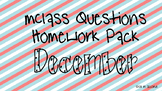 DECEMBER mClass Question Stem Homework Pack