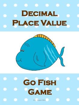 DECIMAL PLACE VALUE GO FISH GAME