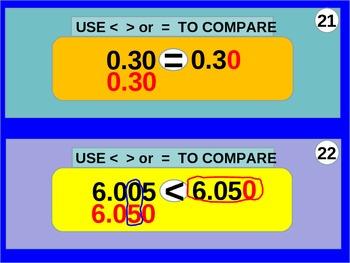 Decimals: Compare and Order Four Decimals (animated)
