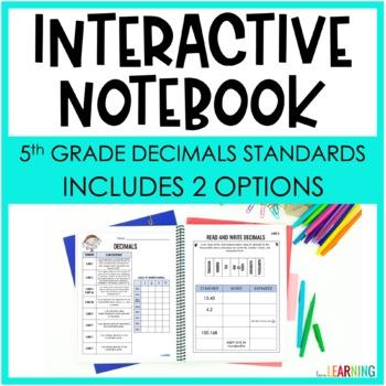 DECIMALS: Interactive Notebook {Covers 5th Grade NBT Standards}