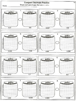decimals place value read write compare and order decimals 30 worksheets. Black Bedroom Furniture Sets. Home Design Ideas