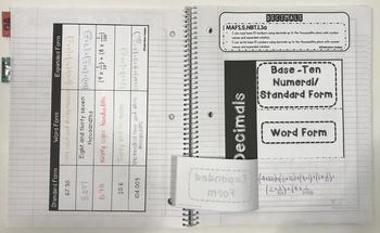 DECIMALS: Reading, Writing, and Comparing (5.NBT.1.3 , 5.NBT.A.3)