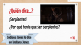 DECIR Practice. FUN brain break game -- ¿Quién lo dice? Guess the famous saying!