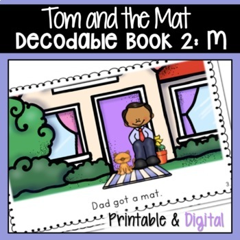 DECODABLE BOOK 2 M PAIRS WELL WITH ORTON GILLINGHAM PHONICS FIRST