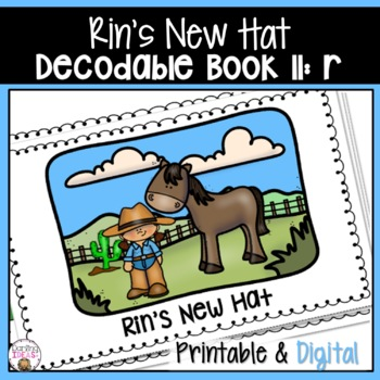 DECODABLE BOOK 8 R PAIRS WELL WITH ORTON GILLINGHAM PHONICS FIRST