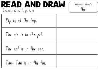 DECODABLE READ AND DRAW