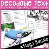 DECODABLE TEXTS, PASSAGES AND BOOKS MEGA BUNDLE PAIRS WELL