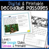 DECODABLE PASSAGES | PAIRS WELL WITH ORTON GILLINGHAM | Sc