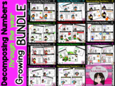 DECOMPOSING NUMBERS 1-10 Through the Year GROWING BUNDLE