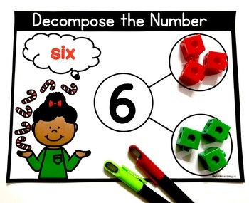 DECOMPOSING NUMBERS 1-10 for Dual Language Program