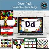 DECOR PACK -CONSTRUCTION BLOCKS DESIGN (Editable)
